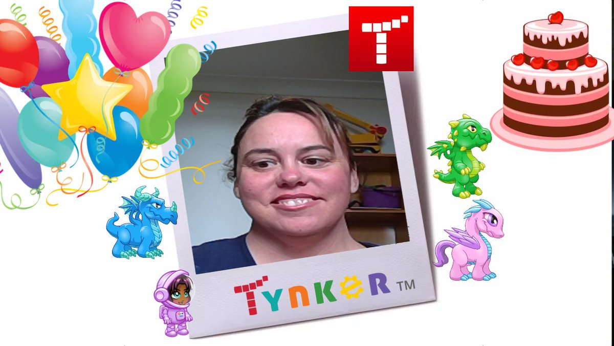 Yay how easy is it to code a Tynker photobooth to present AR to a class. @ICTLaurens