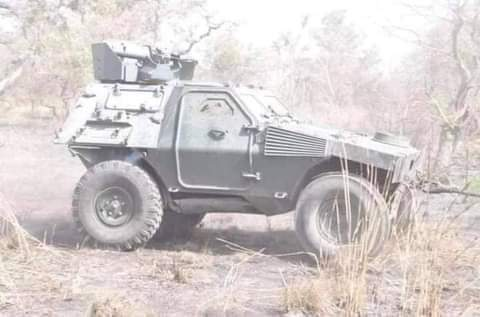 Nigerian soldiers have captured Shekau Armoured Personnel Carrier he normally use for his videos in Sambisa forest, this is an indication that his days are numbered...  Nigerians army will succeed. 🙏🏿