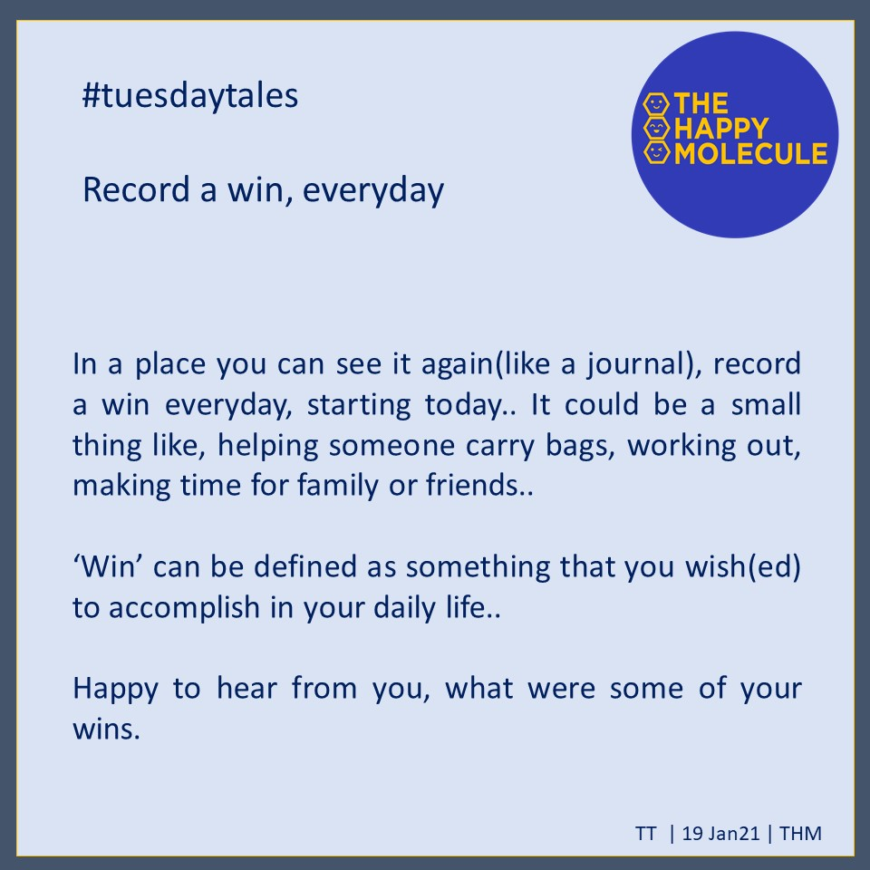 #tuesdaytales by #thehappymolecule  #hypertalent #happiness #happy #happyme #happylife#happinesstips #happinessisachoice#happinessmatters#happyliving #SocialMedia   Know more about what we are doing on building #happiness for everyone, mail us at smile@thehappymolecule.in