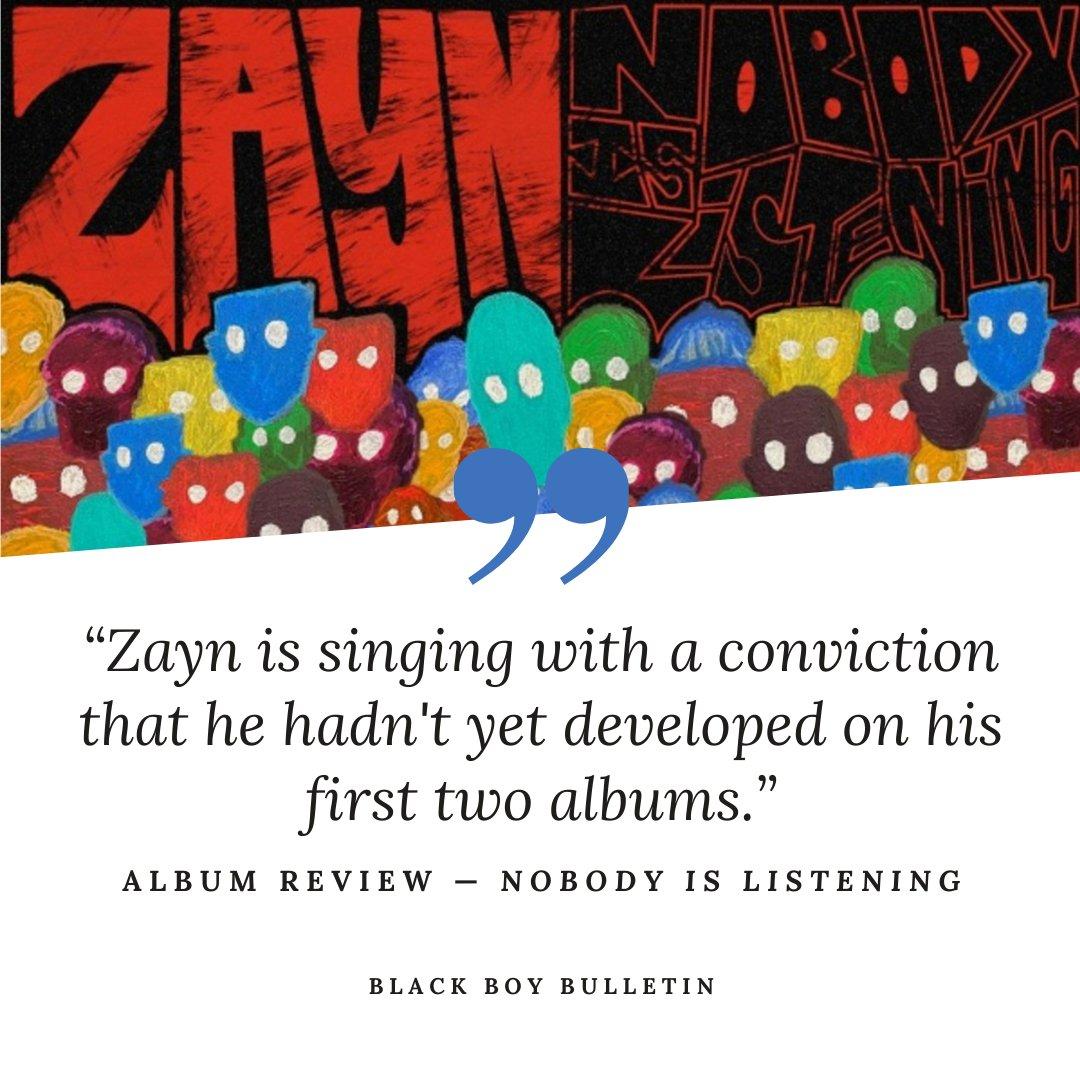 #NobodyIsListening #Zayn #Better #Vibez #ZaynMalik