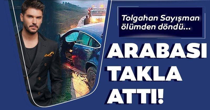 Ünlü oyuncu Tolgahan Sayışman'dan gelen son dakika haberi sevenleri korkuttu. Tolgahan Sayışman geçirdiği trafik kazasıyla ölümden döndü. İş görüşmesi için İzmir'e giden Tolgahan Sayışman ve arkadaşı, dönüş yolunda kaza geçirdi. #TolgahanSayışman https://t.co/V9VAm5xA1q