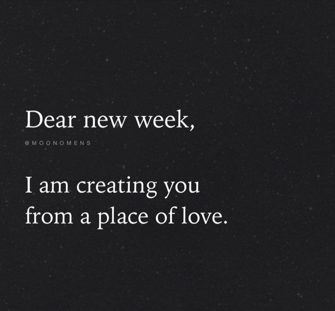 What're You Creating? #NewWeek #creating #love #spiritual #manifest #vibes