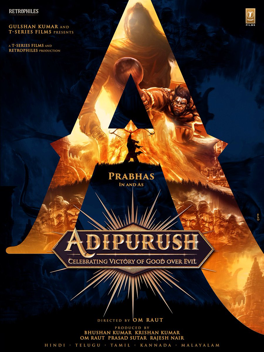 #Adipurush hindi film directed by #OmRaut starcast #PrabhasRajuuppalapati #SaifAliKhan produced by #TSeriesFilms #TSeries #film #bollywood #Tollywood