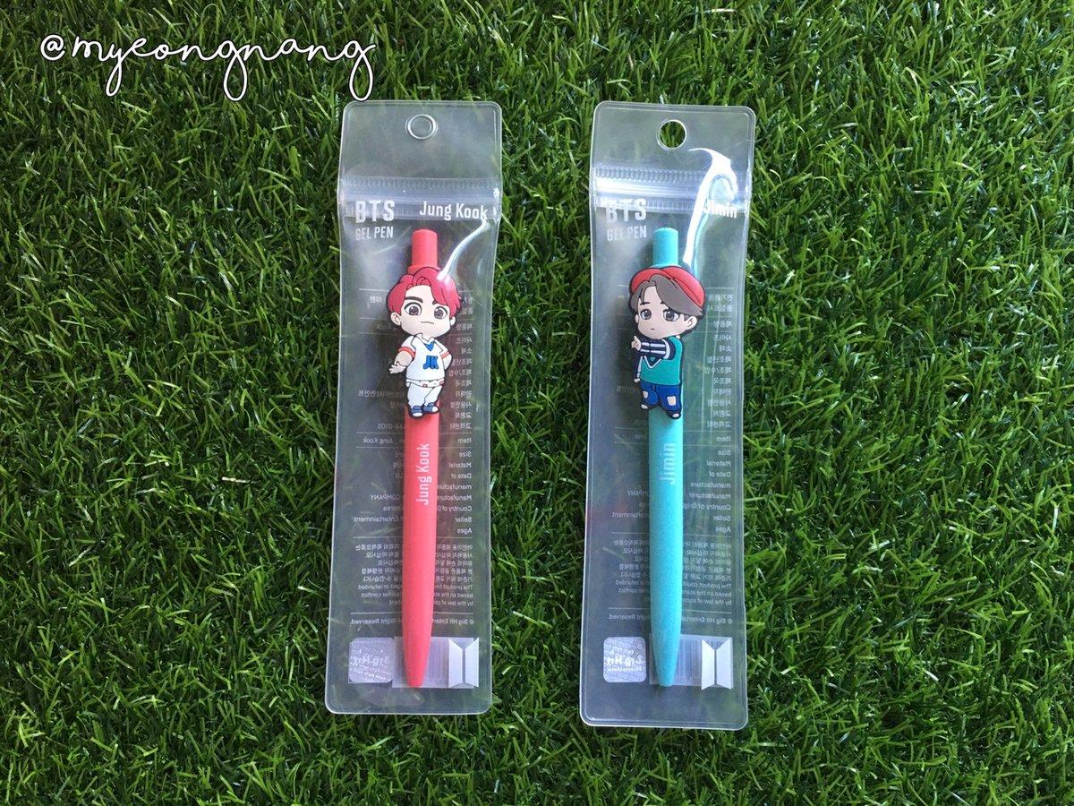📣[#BTS_POPUP] ปากกา #Jungkook #Jimin  💰ราคา 150 บาท 📮ค่าส่ง 30/50 ✅#พร้อมส่ง   #ตลาดนัดบังทัน #ตลาดรถไฟบังทัน #ตลาดนัดรถไฟบังทัน #ขายของสะสมบังทัน #ขายของสะสมBTS