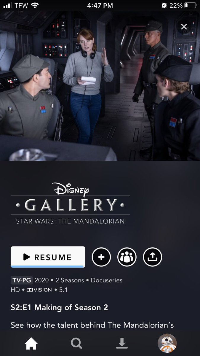 While I may have liked this 'behind the scenes' special look at #TheMandalorian Season 2, I'm just a little bit disappointed it didn't cover @HamillHimself's surprise involvement and reprisal in his role as Luke Skywalker.