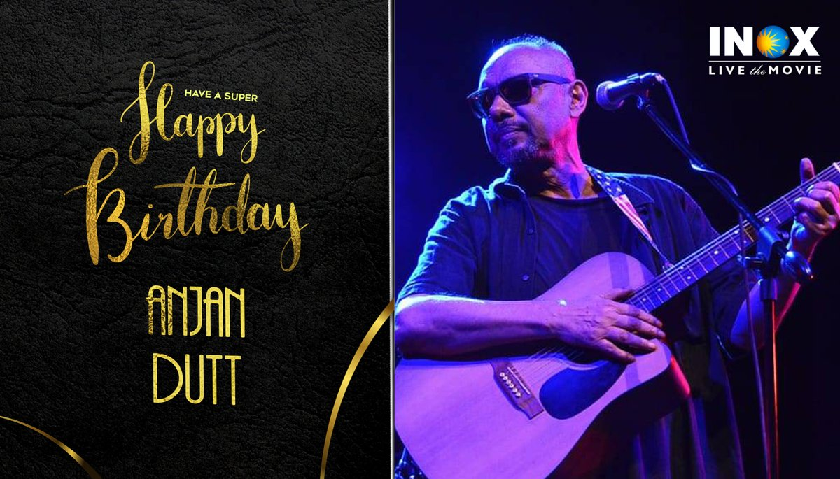 INOX wishes the Bengali director, actor & singer @anjandutt a very Happy Birthday! #HappyBirthdayAnjanDutt #INOXwishes #INOX  #INOXTrivia: The multi-talented actor won the award for best newcomer at the Venice Film Festival for his film 'Chalachitro' in 1981