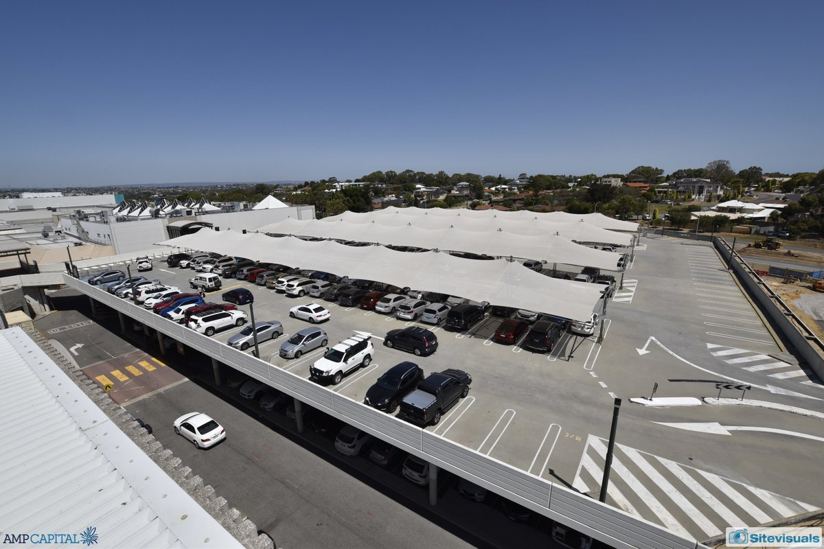 From a rooftop carpark a year ago, to creating the home of the first @HoytsAustralia cinema in the northern suburbs, a new dining precinct and loads more retail space at @karrinyupcentre #perthnews #perthconstruction #perthisok #perthretail #timelapse