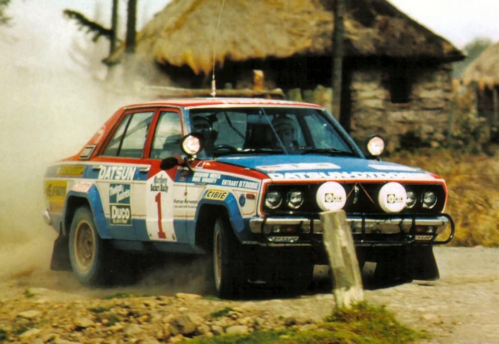 Oh hence every household had a #Datsun from late 70's. @wrcsafarirally was a powerful marketing platform for @AudiOfficial @TGR_WRC @prodrive #rally #rallyfans #rallylife #wrclive #instarally #rallylovers #turbo