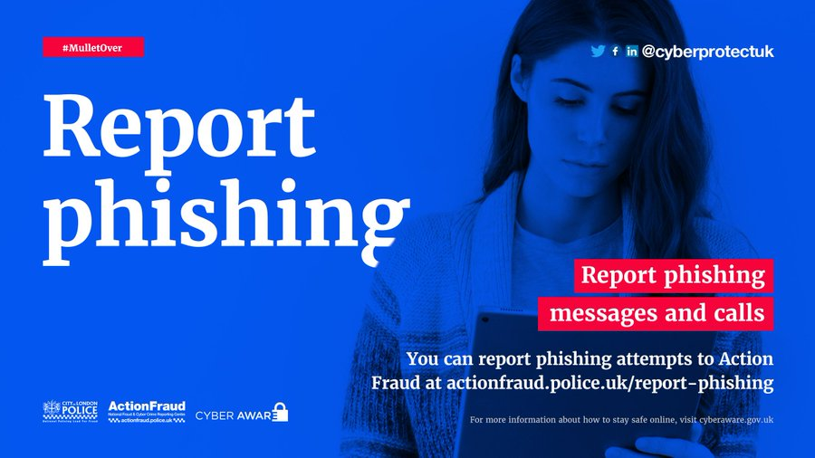 #WednesdayMotivation   Have you forward your first Phishing email yet?  Very easy to do and you could help protect many with a couple of clicks, find out more here;    Or forward to the  @NCSC  team via;  report@phishing.gov.uk