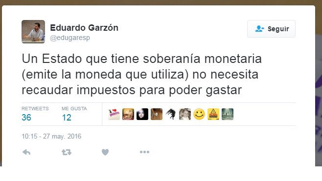 El mal rato que tiene Eduardo Garzón no es por el Rubius y lo de Andorra,  no, es porque no le dejan a él la soberanía monetaria para arreglar el país... #Rubius  #Andorra