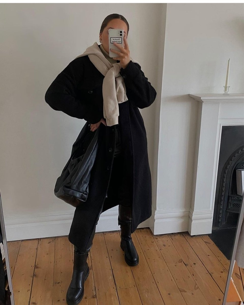 Image for Casual Fits 📸   @ellascoot styles the lauren coat 🛒  Shop the look 👉🏽 https://t.co/5y08kiUfWH https://t.co/L57ybZ9NtC