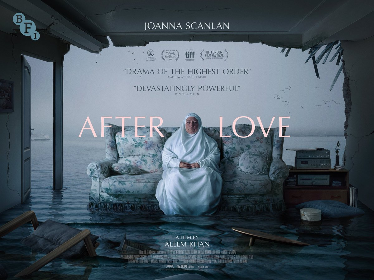 What do you think of this striking new quad poster for #AfterLove designed by @iamsamashby @1NTERMISSION?