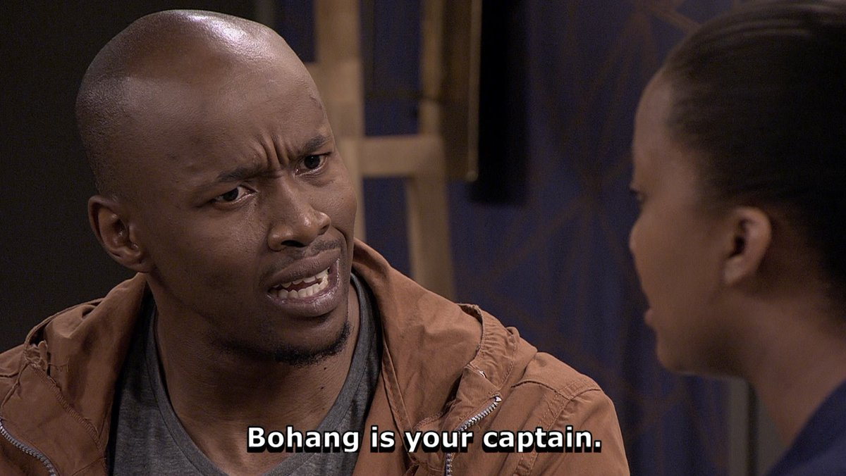 Oh, yes! Seipati's abusive ex-boyfriend is your captain, Lerumo.  What are you gonna do about that? #etvScandal https://t.co/9FQEjphiFw