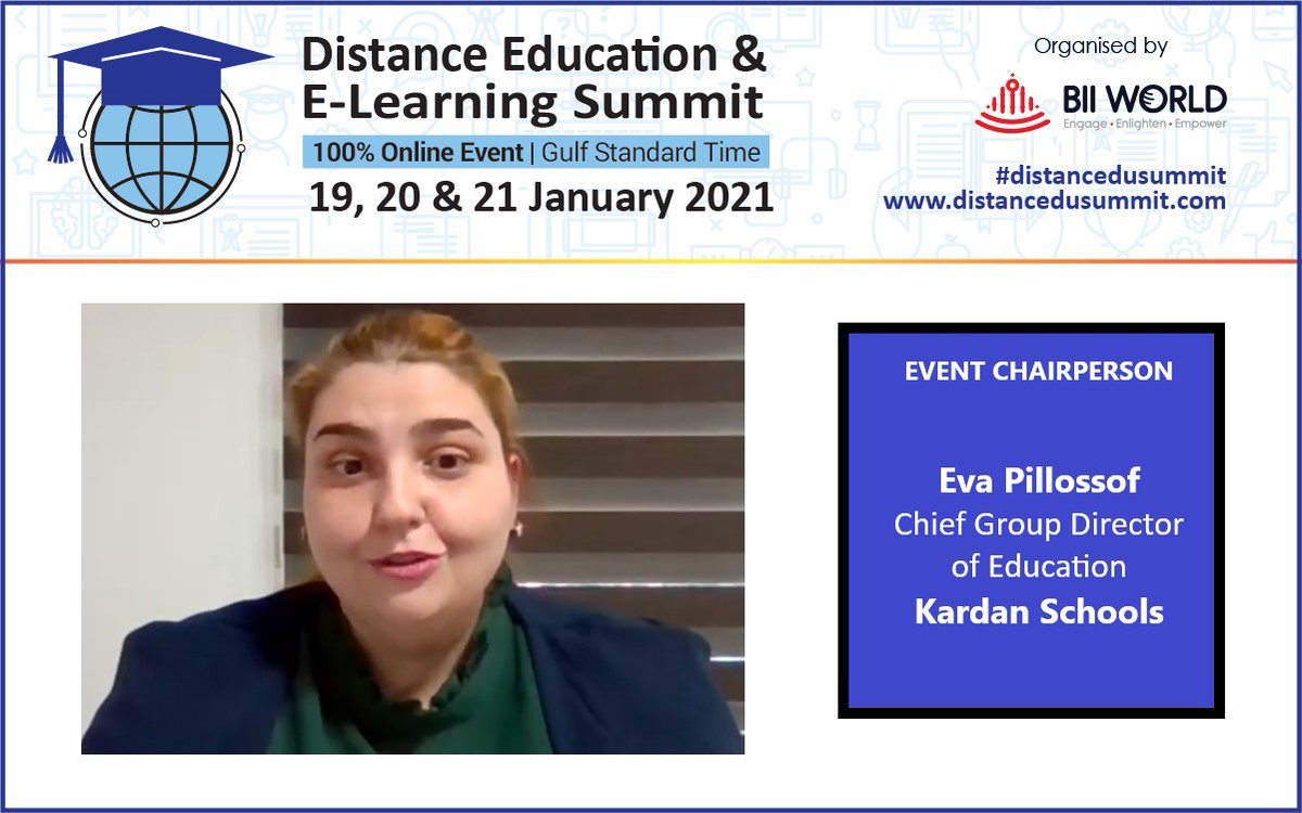 Day 1 of #distanceeducation and #elearning Summit, commenced with the opening speech from the event chairperson - Eva Pillossof.#distancedusummit #education #futureeducation #eductaiontechnology  #onlineeducation #digitaleducation #edtech #onlinelearning #remoteeducation