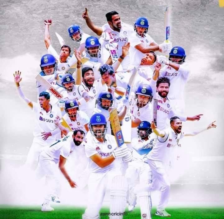 @Sundarwashi5 @BCCI टीम इंडिया को जीत की हार्दिक बधाई ।💐  #IndiavsAustralia #brisbanetest #HistoricalWin #TeamIndia all the best 👍👍👍