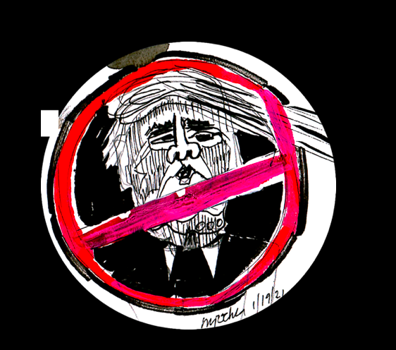 #trumpbegone #trump #melaniatrump #stopfascism #politicalmemes #trumpcartoons #mordor #toxic #dictator #racism #georgefloyd #cantbreathe The Last Day by mipochka