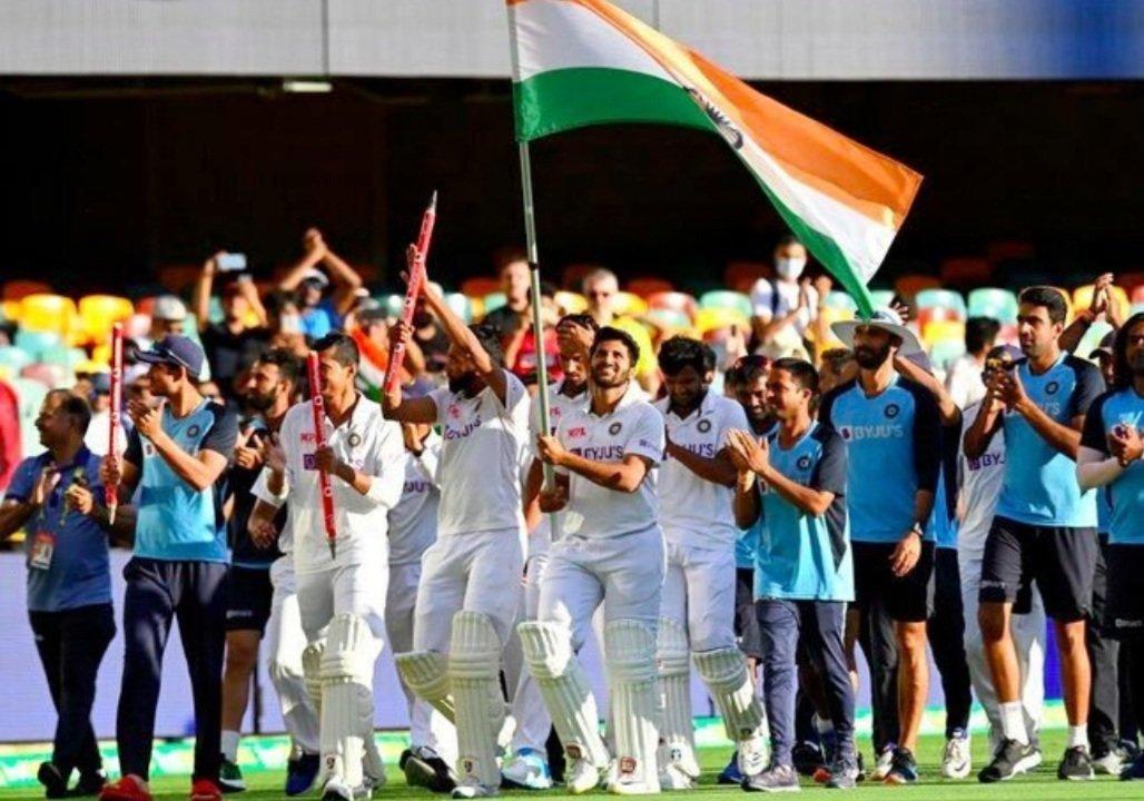 भारतीय क्रिकेट टीम को जीत की बहुत-बहुत बधाई। #AUSvINDtest