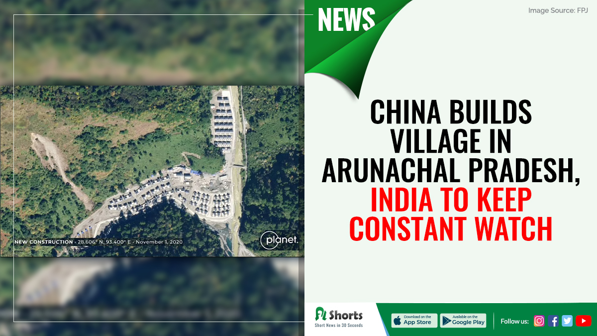 Reportedly, China has constructed a new village consisting of 101 homes, approximately 4.5 km within Indian territory in Arunachal Pradesh. #indochina #IndiaChinaTension #IndiaChinaBorder #IndiaChinaFaceOff #modi #PMModiji
