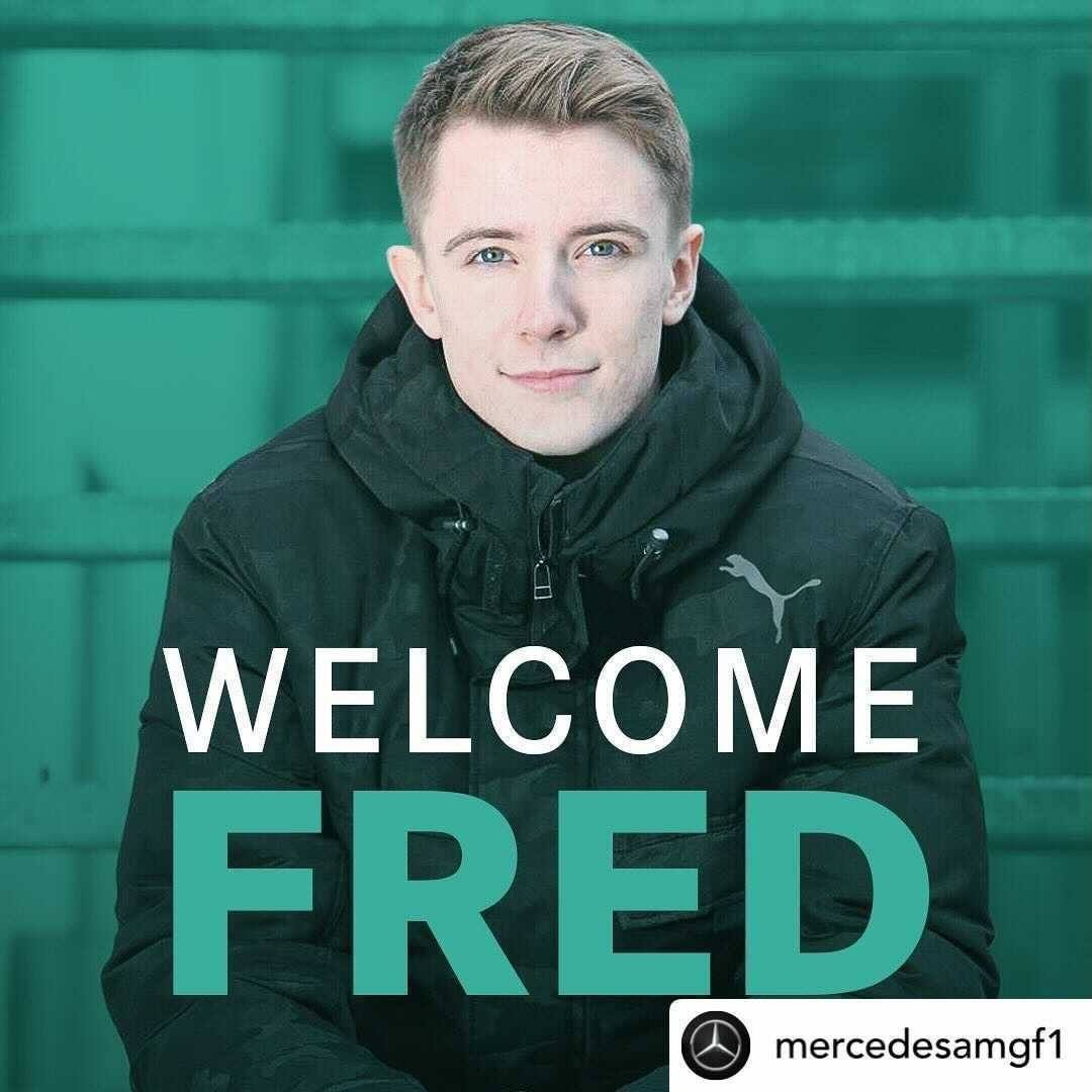 #Repost @MercedesAMGF1 #WelcomeFred ✍️ #Vesti is officially a Mercedes Junior Driver 👊 The 2019 #FREC rookie and drivers champion racing for #Prema. In 2020 he drove #FIAF3 for #Prema with 3 wins 4 podiums 1 pole and in 2021 making a switch to #ART #F3 #RoadToF1 #MercedesJunior