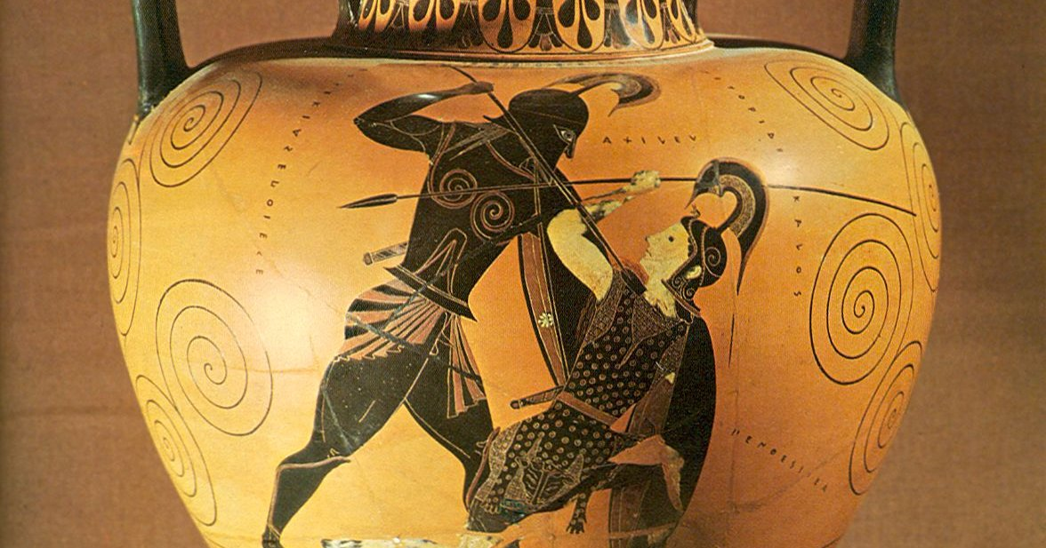 1. #Penthesilea was an #Amazonian #queen in #GreekMythology , the daughter of #Ares and #Otrera and the sister of #Hippolyta. She assisted #Troy in the #TrojanWar, during which she was killed by #Achilles. #FairyTaleTuesday #keepingClassicsalive 2/11