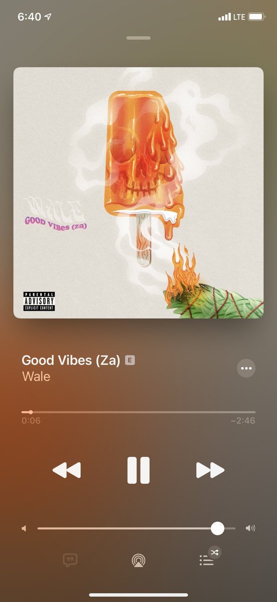 This a cool vibe fr @Wale #WaleGoodVibes
