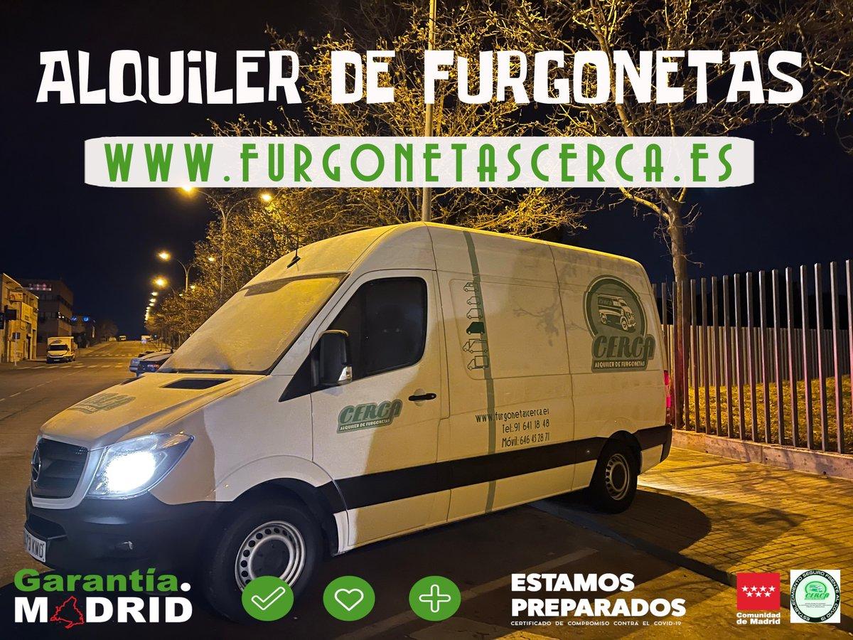 Necesitas alquilar una #furgoneta hoy #Martes?Infórmate ℹ️ 📲646 45 28 71 / 91 641 18 48  . . . #Cerca #Alcorcón #FelizMartes #19gennaio #WWERaw #honktwtselfieday #tuesdaymotivations #tuesdayvibe #unaDelleCose #19enero #MadridResiste #GarantíaMadrid