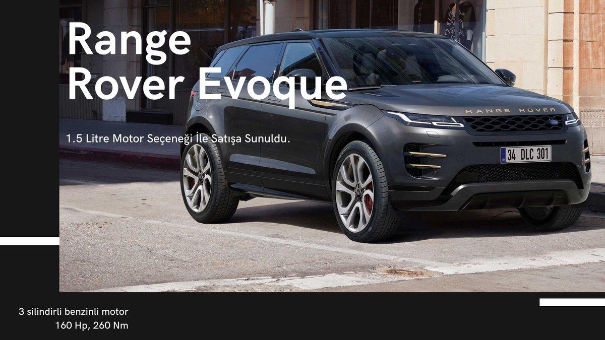 Range Rover Evoque 1.5 litrelik Benzinli Motor Seçeneğiyle Türkiye'de    @RangeRover #RangeRover #evoque #pistonkafalar #Repost