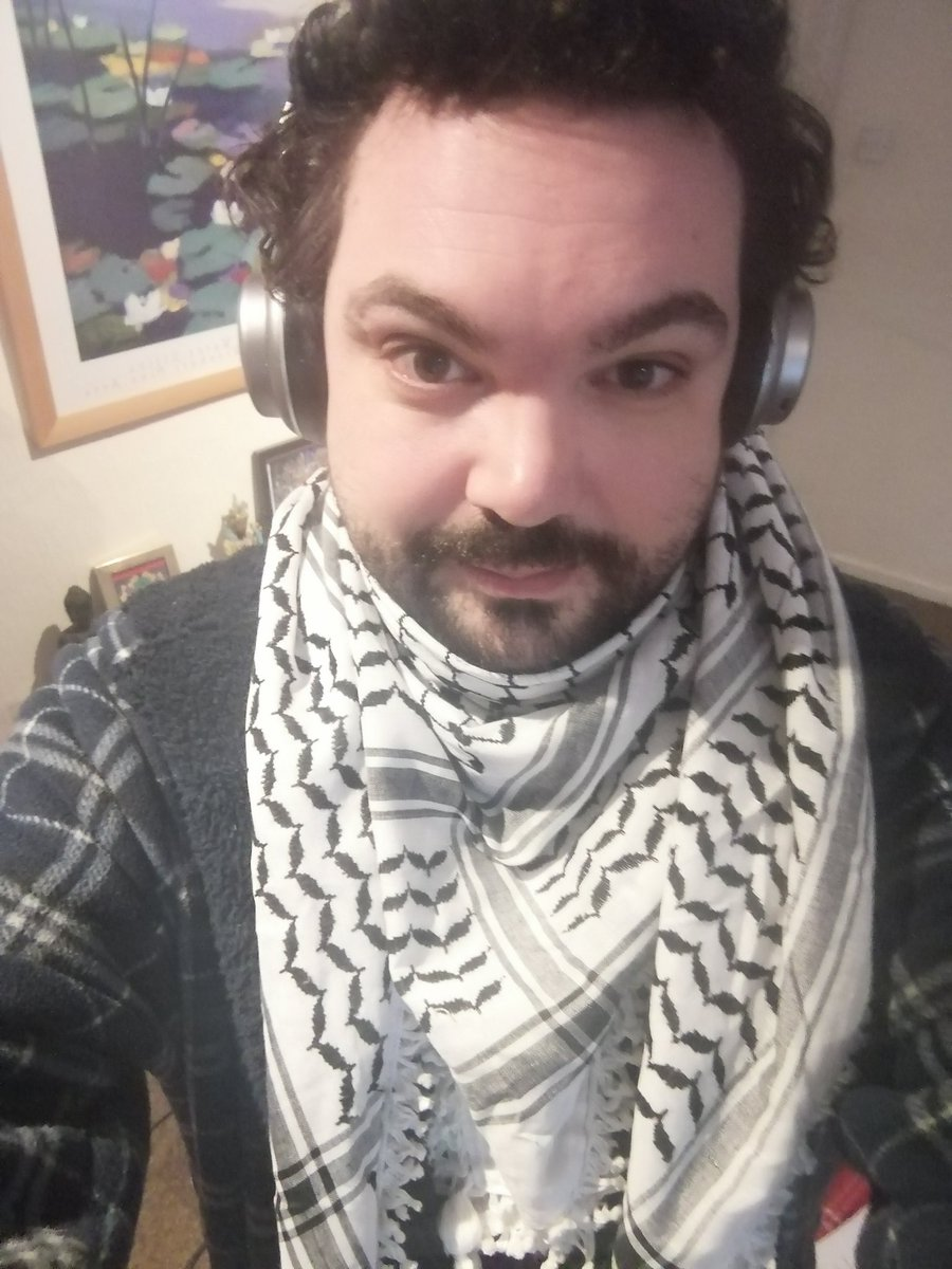 My kufiyas have arrived from Palestine. #tuesdaymotivations