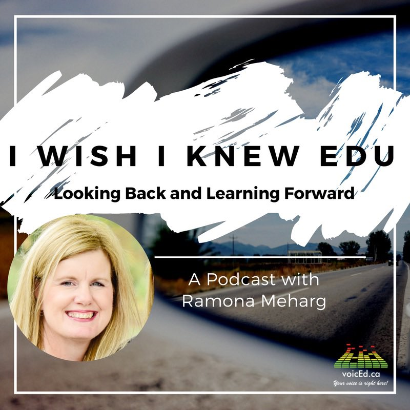 This week on I Wish I Knew EDU, I'm talking to Arianna Lambert @MsALambert about the Google I Experience, #edTech, @tvo, #Mindfullness, #TinkeringThursdays, equity, blogging, mentoring and valuing Ss 4 what they bring to  community.