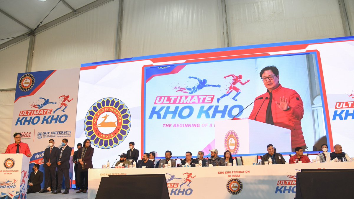 I'm very excited as our Indigenous game of Kho-Kho has finally gained the momentum. National Kho Kho Camp was inaugurated today. High performance and scientific analysis will be part of the camp. Congratulations to @KKFIOfficial and it's President @SudhanshuBJP Ji and the team.