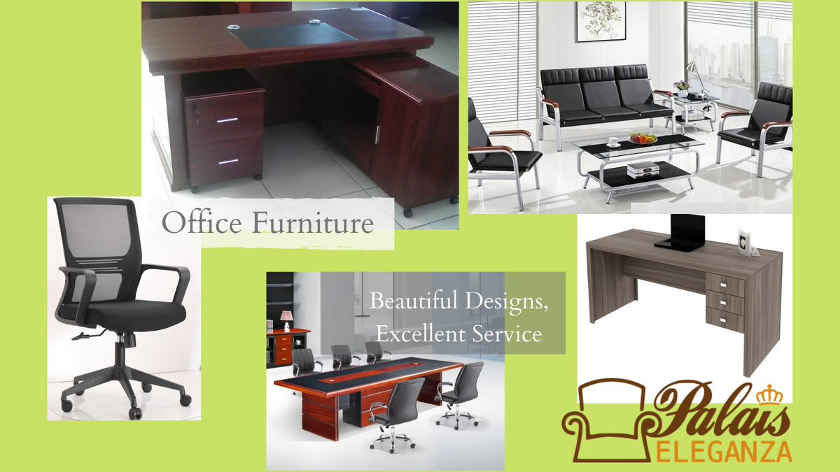 spruce up your #Office with great quality and beautifully designed #furniture from @palaiseleganza  We deliver to you at no cost within #Nairobi Talk to Us!  #OfficeFurnitureKe #Palaiseleganza #tuesdaymotivations  #tuesdayvibe