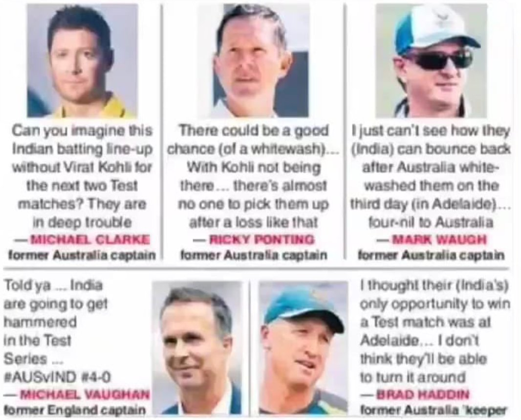 """""""Never Ever Underestimate the INDIANS."""" period.🇮🇳 Take some long notes there, Australian legends. #INDvsAUS"""