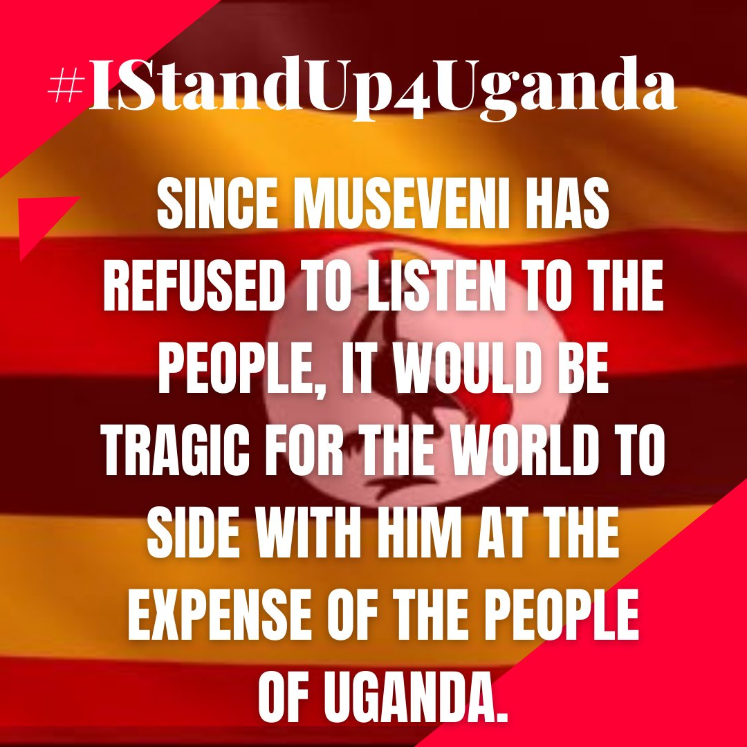 The @UgandaEC says @KagutaMuseveni won, but has nothing to prove to the people that this is so. The people of Uganda feel helpless, but the anger is manifest all over. #iStandUp4Uganda #Uganda