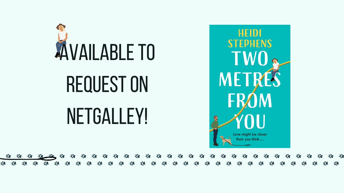What's your #tuesdayvibe? Looking for something to cheer you up?   @heidistephens's unputdownable TWO METRES FROM YOU is packed full of laugh-out-loud moments and makes for the perfect pick-me-up. ✨ And it's available to request on @NetGalley_UK now! ⬇️