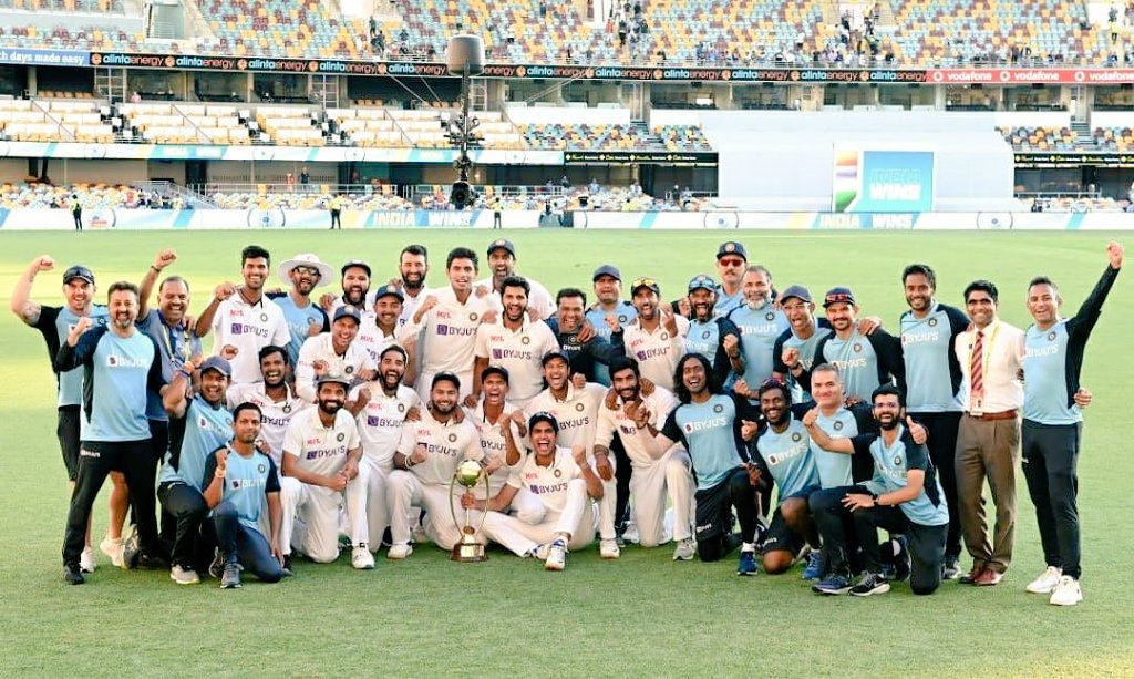 Congratulations Team India on an outstanding series victory.   #INDvsAUS