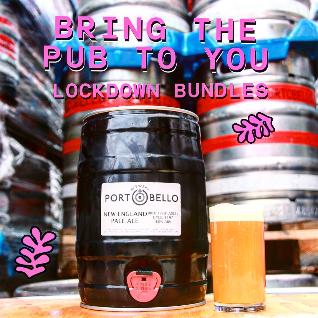 Don't worry we've got you covered 🙃 STAY STOCKED WHILE LOCKED with FREE DELIVERY within the M25 from @portobellobrewing 🍻🤩🎉 LINK IN BIO ⬆️ #prattsandpayne #sw16 #whatlockdown #takeaway #newyear #2021 #craftbeer
