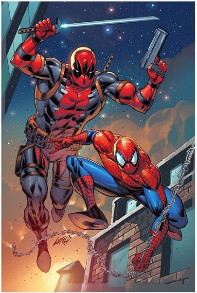 The official poster for Deadpool 3 should be drawn by @robertliefeld, and Venom 2's poster should be drawn by @Todd_McFarlane or Mark Bagley.  #Deadpool #Deadpool3 #Venom #VenomLetThereBeCarnage