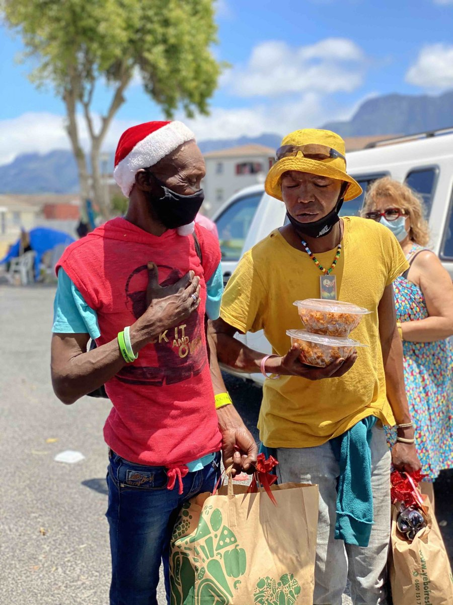 A very big thank you to all for your support towards our Christmas Day Lunch for the Homeless in Cape Town!   Read the full story: https://t.co/qM60QaRXXa  #IAHV #Christmas2020 #Covid19 https://t.co/6DI4qPk4tv