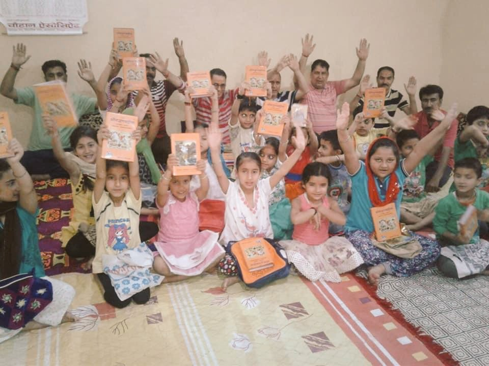 Children of Kashmir have not forgotten their homeland and are waiting to see a new dawn at home. They are spreading vibes of positivity, wisdom and togetherness in Kashmir once again which many thought won't be happening again. #KashmiriHindus are back in Kashmir for new future.