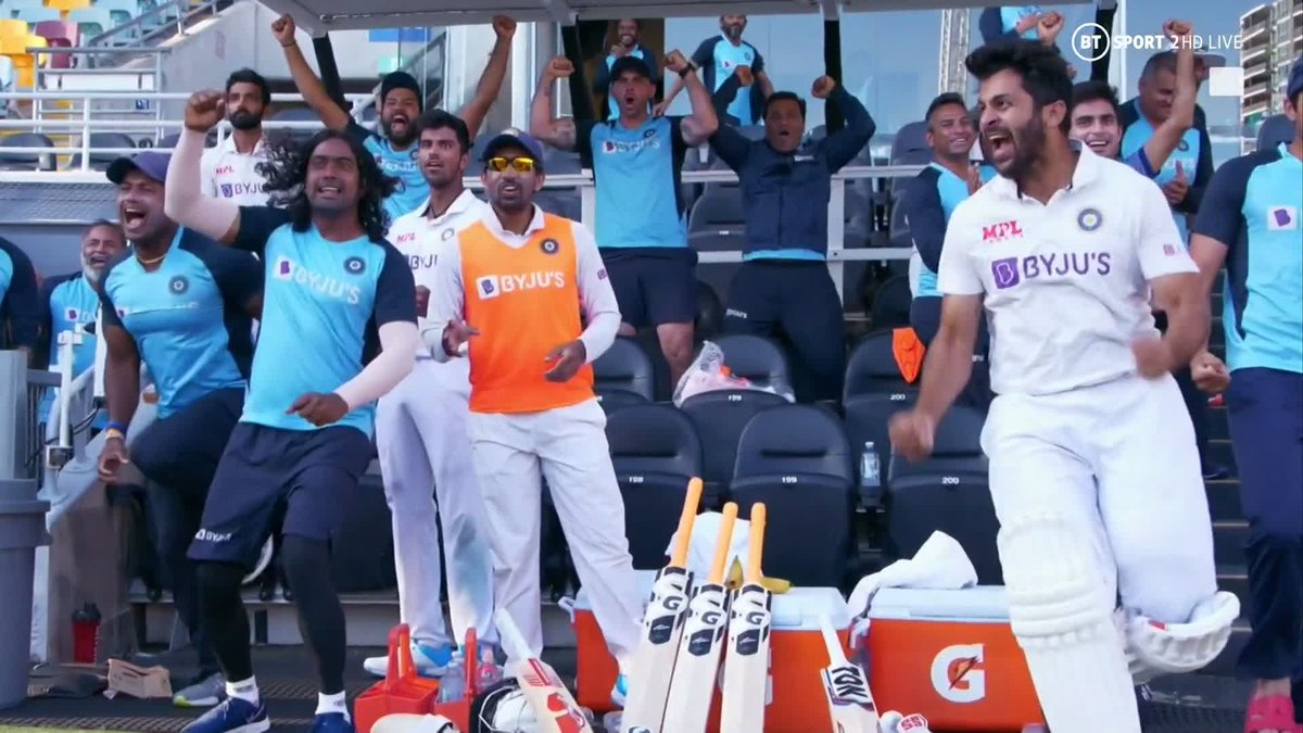 I love this fresh scent of #TeamIndia. One with a level headed, calculating captain @ajinkyarahane88 & a bunfh of young blood wanting to prove their mettle. There is resilience & experience in this team. #RohitSharma #RishabhPant #ShubhmanGill