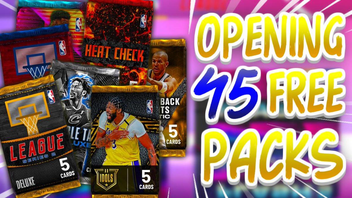 FREE 45 PACK OPENING | MYTEAM PACK OPENING 2K21 |  ANTWAN JAMISON OPAL C...  via @YouTube #NBA #2kCommunity #NBA2K21 #nextgen #currentgen #myteam #packopening #antwanjamison #packs #LakeShow