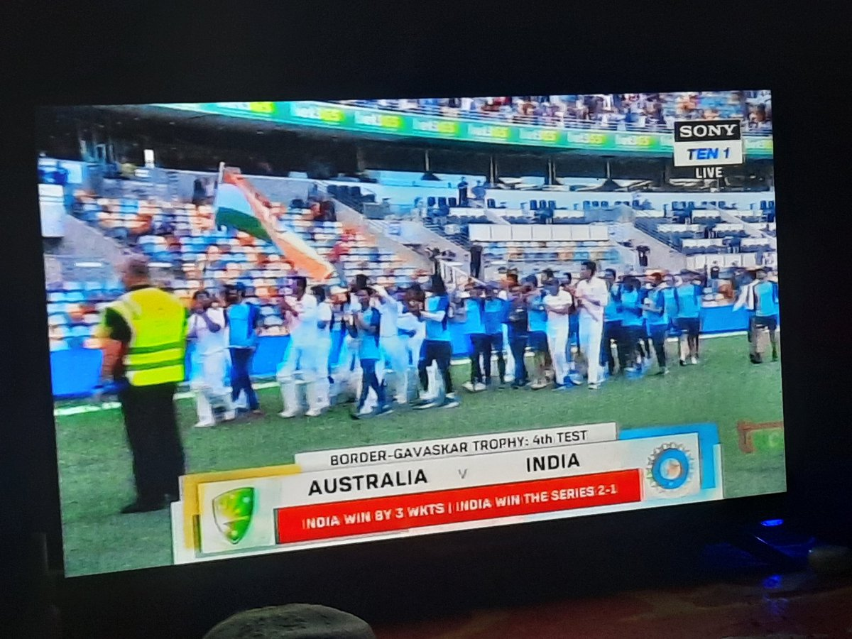 Lost the ODI series Lost @imVkohli (ab) Lost the first test brutally (36-9) Lost @klrahul11 @y_umesh @MdShami11 @Hanumavihari @imjadeja @ashwinravi99 @Jaspritbumrah93 & many more but still #teamindia done the #BorderGavaskarTrophy 2-1. Congratulations @ajinkyarahane88 #TeamIndia