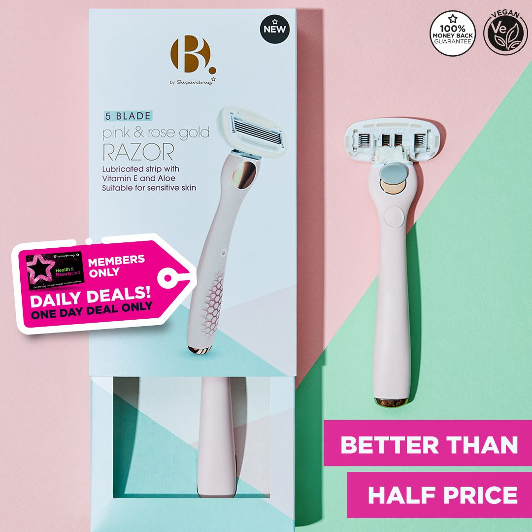 We've got a different daily deal on some of our amazing vegan products to help get you involved with Veganuary! 😁🐰🌱 Today ONLY the @BbySuperdrug Female Hair Removal range is better than half price 👏 https://t.co/gGj61l84d7 https://t.co/FGYmu84ZEh