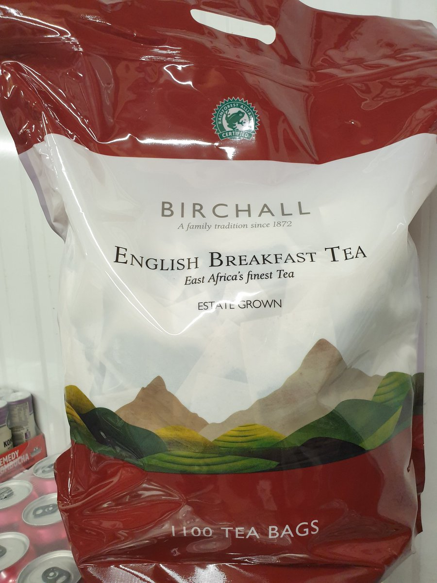 Don't run out of #tea in Lockdown 3.0. This is good strong stuff to keep you motivated #ethical #Brighton #Sussex in the home or for #Takeaway samples available always 🤩 tagged or not