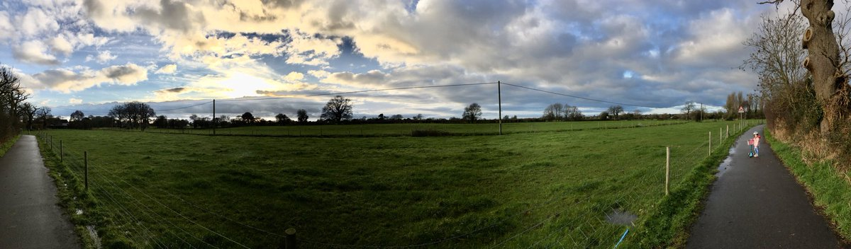 This green and pleasant land of Walberton. Grade A farm land and protected views of our neighbourhood plan - #mentalhealth & #wellbeing for all during these difficult times