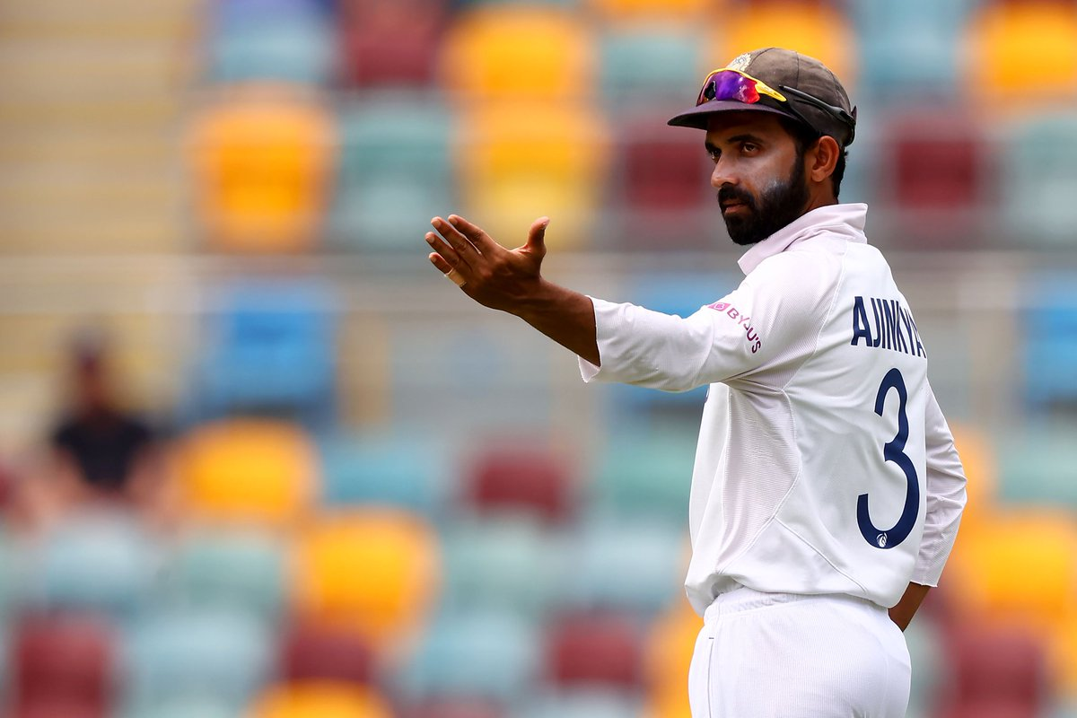 Appreciation tweet for #Rahane. This man deserves all the applause. #INDvsAUS #TeamIndia