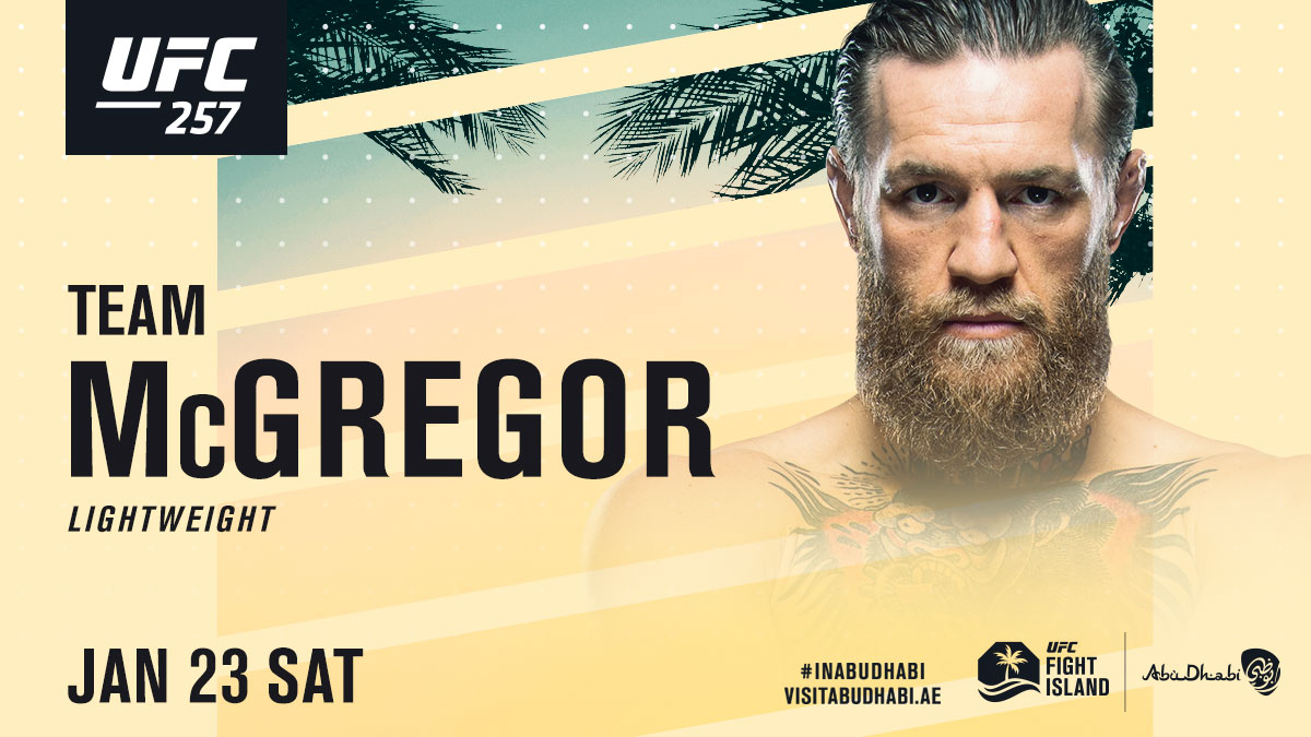 The return of The Mac! 🇮🇪  RT if @TheNotoriousMMA is coming away with another W at #UFC257  Pre-order now available: https://t.co/05E97fg9UG  #InAbuDhabi | @VisitAbuDhabi https://t.co/ytw7Uss7tG