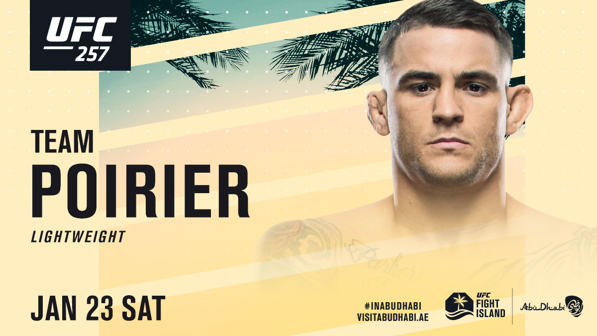 4 days out!! RT if @DustinPoirier's getting his revenge Saturday at #UFC257  Pre-order available now: https://t.co/05E97eYz38  #InAbuDhabi @VisitAbuDhabi https://t.co/p6FR3pV3gV