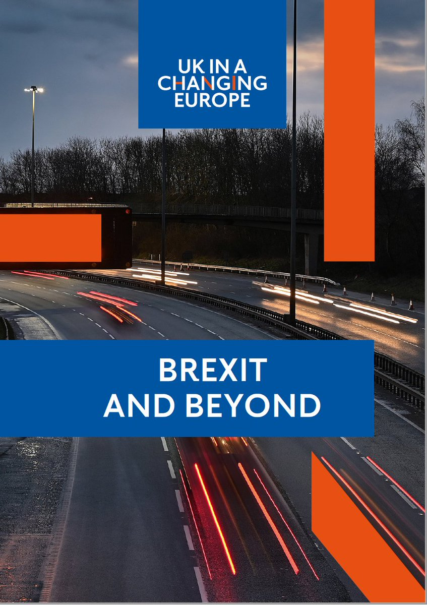 IT'S HERE The new bumper @ukandeu report that tells you all you need to know – or at least all the questions you need to ask – about the UK after Brexit.  1/27