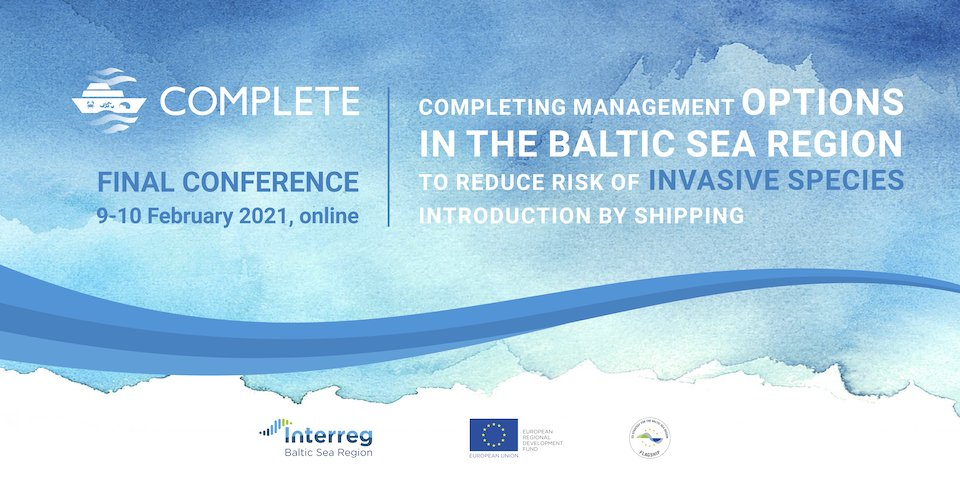 #Shipping contributes to the uncontrolled introduction of invasive species to the #BalticSea, which has severe environmental and economic consequences. Are you interested in #MadeWithInterreg solutions by @BalticComplete project? Join an upcoming final event! #Interreg #BSR